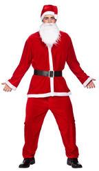 Deluxe Velour Santa Suit