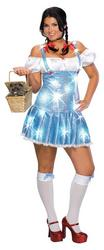 Sexy Dorothy Deluxe Wizard of Oz Plus Size Costume