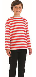 Red & White Stripe Jumper