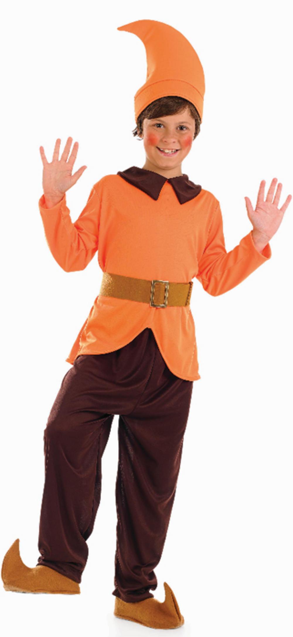 Orange Dwarf Costume