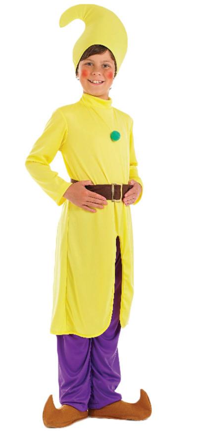 Yellow Dwarf Costume
