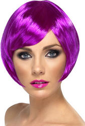 Purple Babe Wig