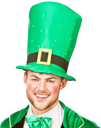 Giant St Patricks Top Hat with Flashing Leds