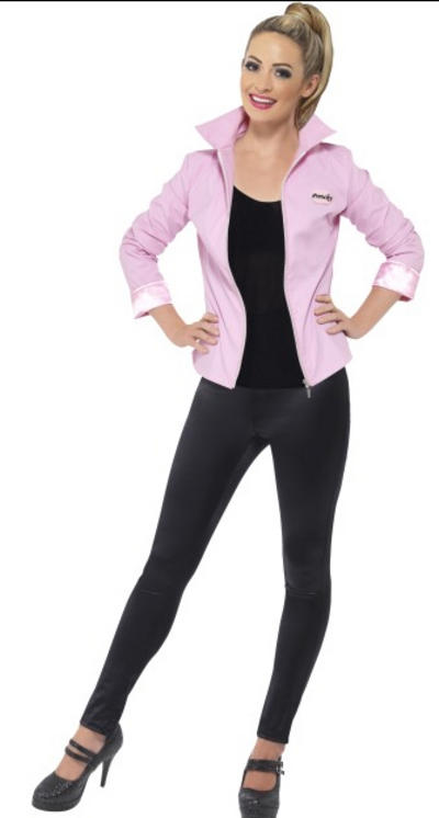 Deluxe Grease Pink Ladies Jacket