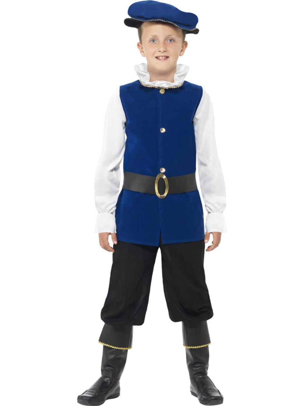 Kids Tudor Boy Costume Tv Book And Film Costumes Mega Fancy Dress