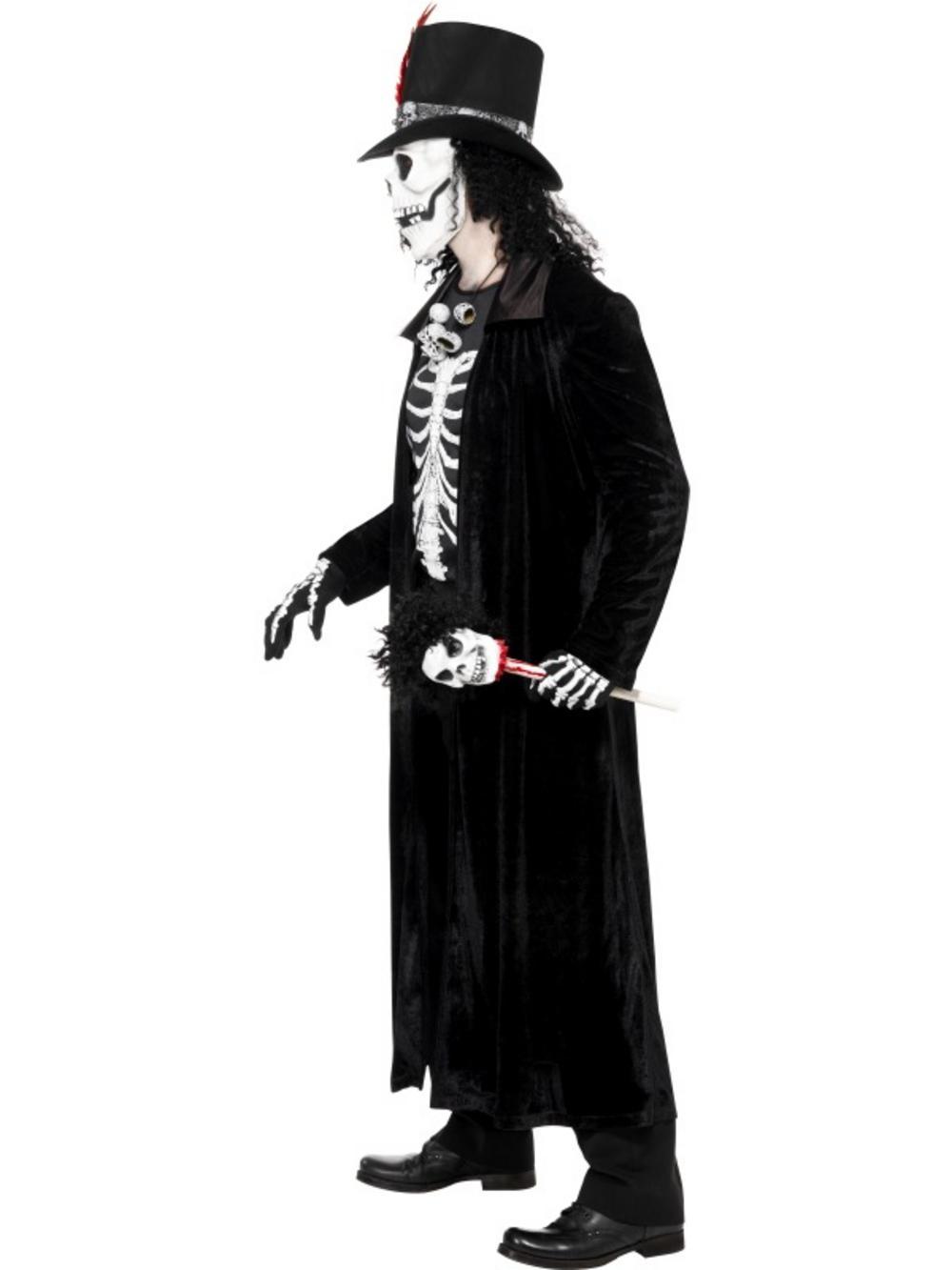 5881766  sc 1 st  Mega Fancy Dress & Voodoo Skeleton Halloween Costume | Halloween Costumes | Mega Fancy ...