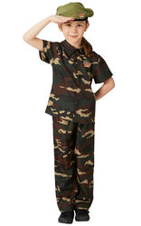 Kids Soldier Costume