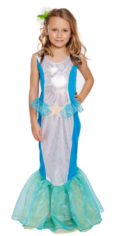 Mermaid Girl Costume