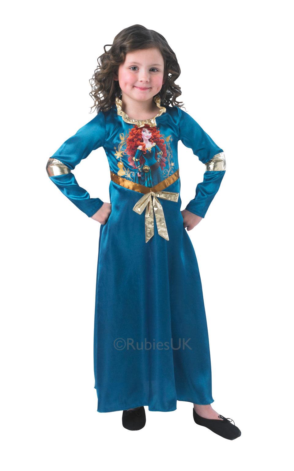 Girls Storytime Brave Merida Costume Girl S World Book Day Fancy