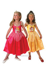 Girls Reversible Sleeping Beauty & Belle Costume