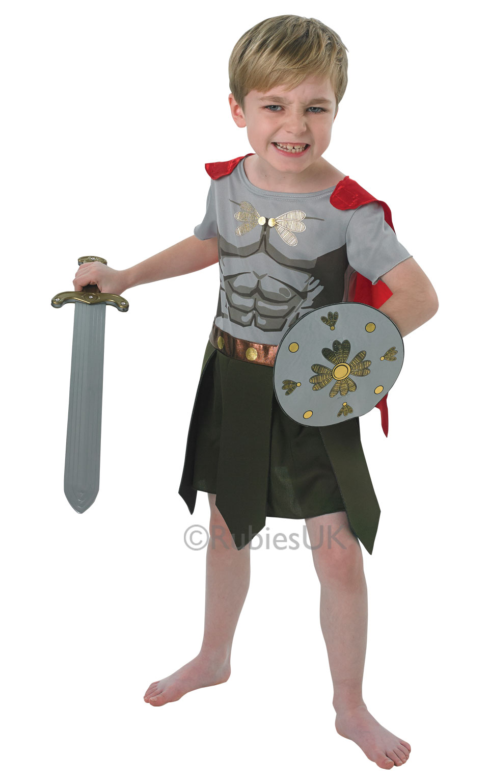 Boys Gladiator Costume Boy S World Book Day Fancy Dress
