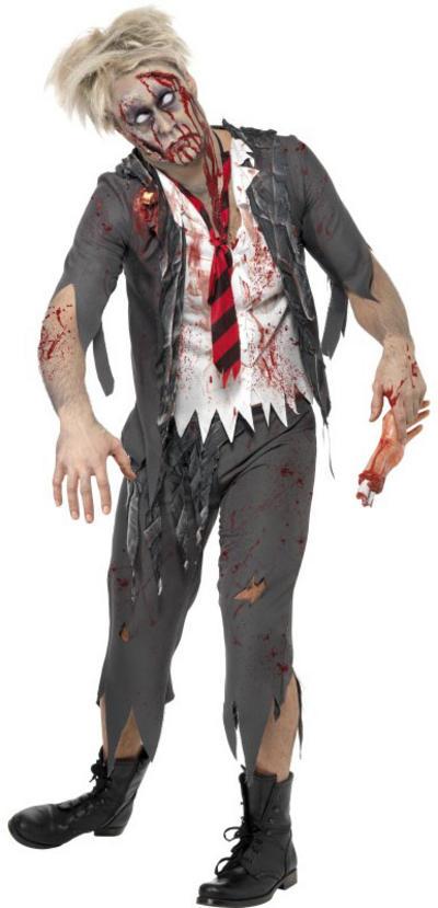 Zombie School Boy Halloween Costume