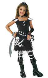 Pirate Drama Queen Scarlet Costume