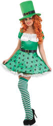 Ladies Sexy Leprechaun Costume