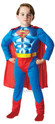Kids Metallic Chest Superman Costume