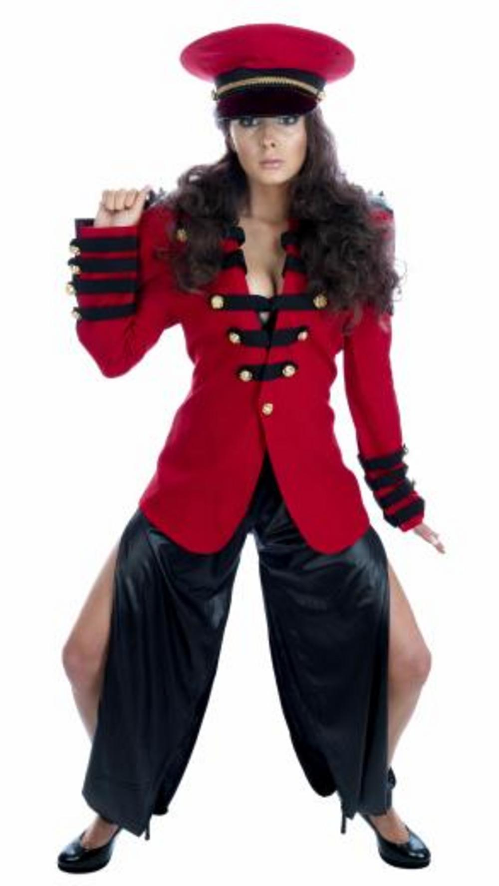 Pop Soldier Cheryl Cole Esque Costume
