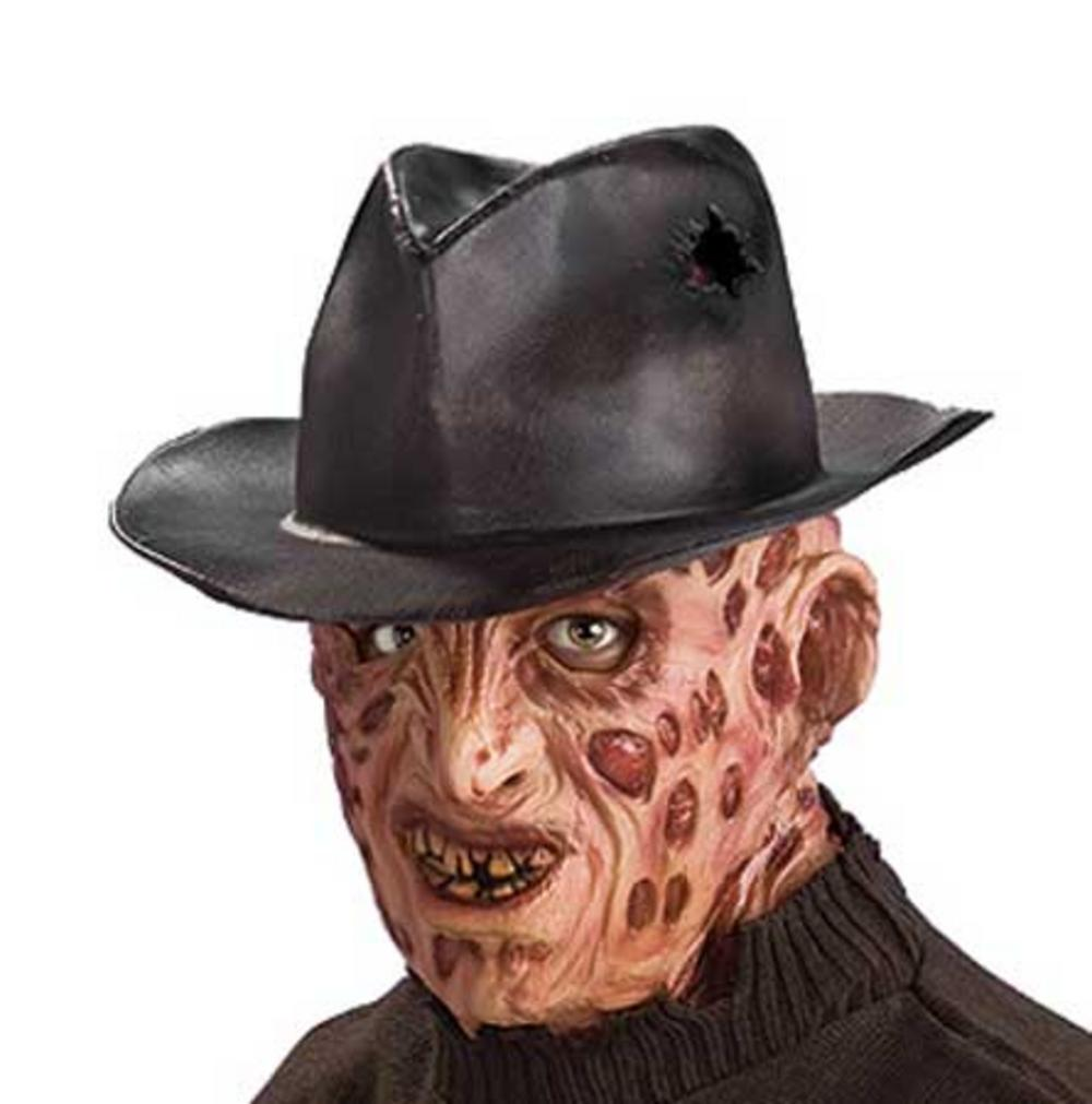 freddy krueger fedora hat | halloween accessories | mega fancy dress