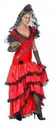 Spanish Flamenco Beauty Costume