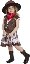 Kids Toddler Cowgirl Costume
