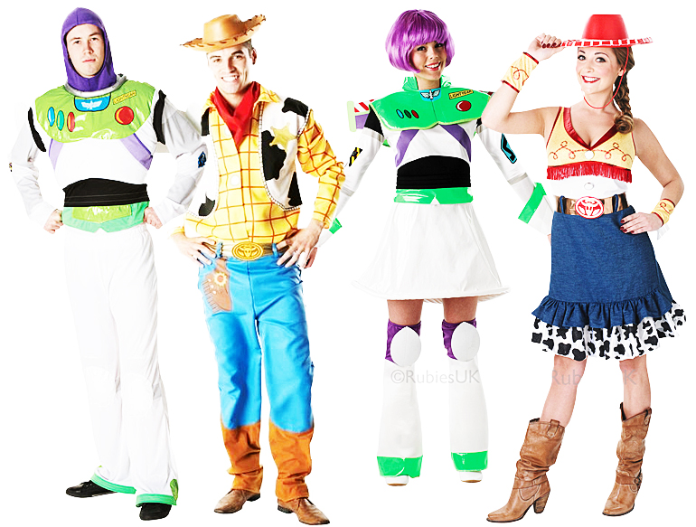 Disney Toy Story Adults Fancy Dress Buzz Jessie Woody  sc 1 st  Meningrey : woody costume adults  - Germanpascual.Com