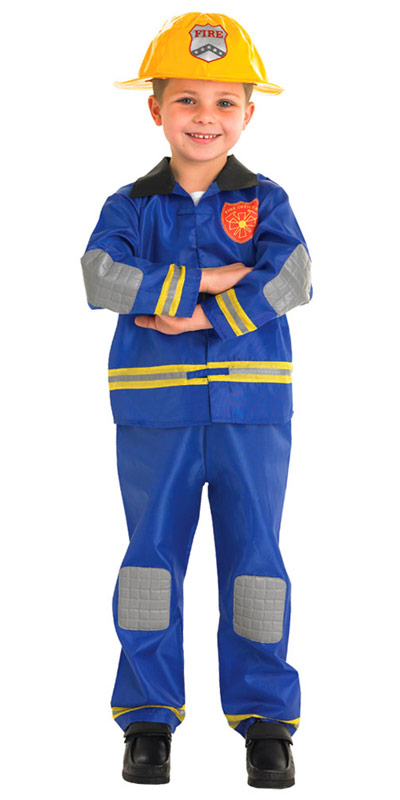 279fce920962 Firefighter Kids Costume | TV, Book and Film Costumes | Mega Fancy Dress