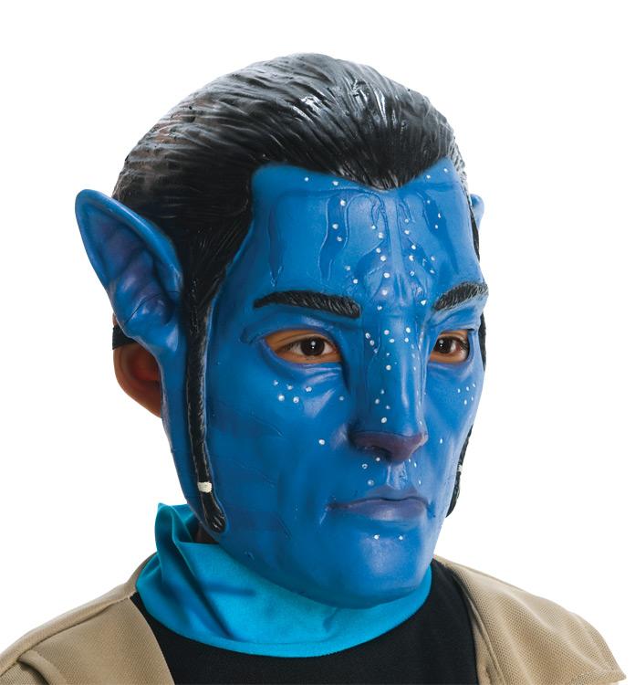 Avatar Jake Sully: /Kids' Avatar Jake Sully 3/4 Mask