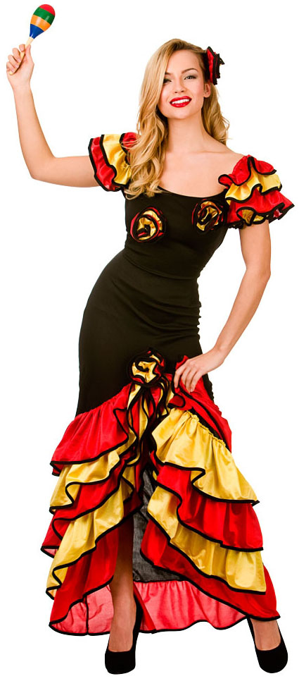 249490ab3 Ladies Rumba Dancer Costume | All Ladies Costumes | Mega Fancy Dress