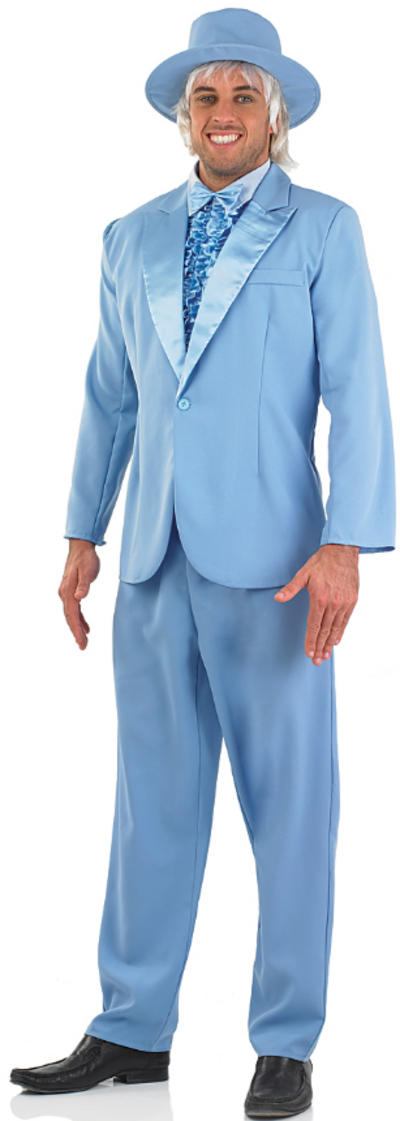 Blue Suit Costume
