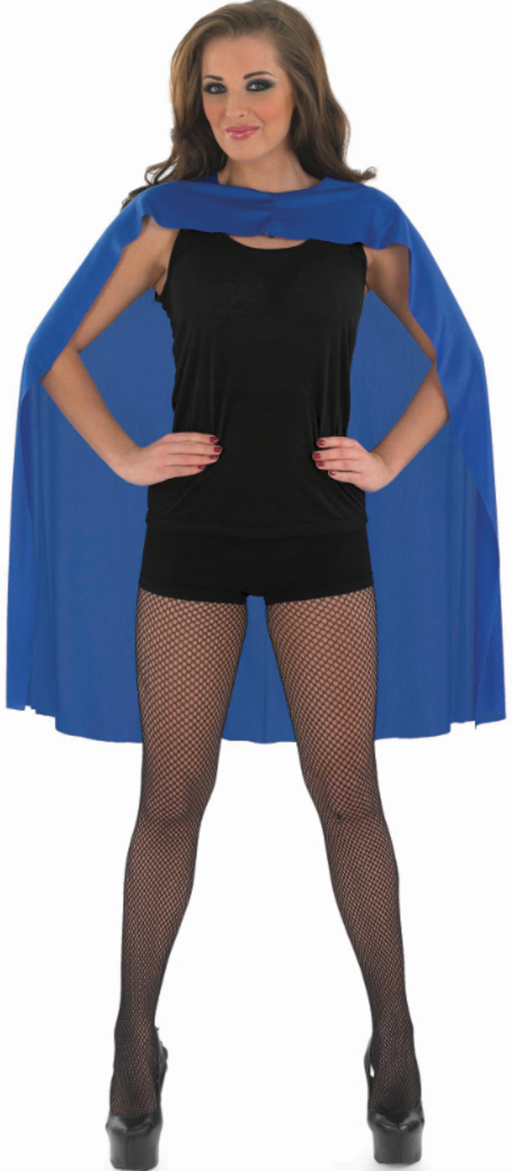 Blue Superhero Cape Costume