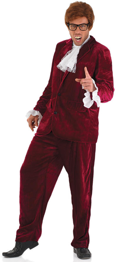 Mens 60s Red Gigolo Costume