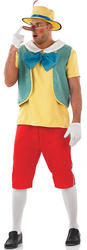 Mens Fairy Tale Puppet Fancy Dress Costume