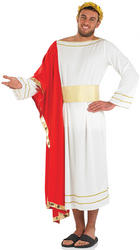 Mens Roman Emperor Fancy Dress Costume