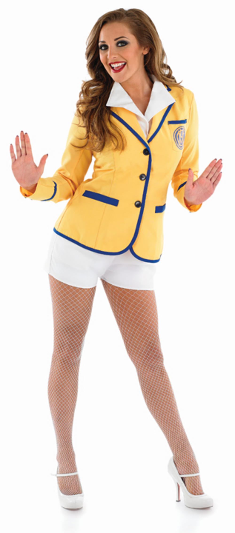 Ladies Holiday Camp Helper Fancy Dress Costume