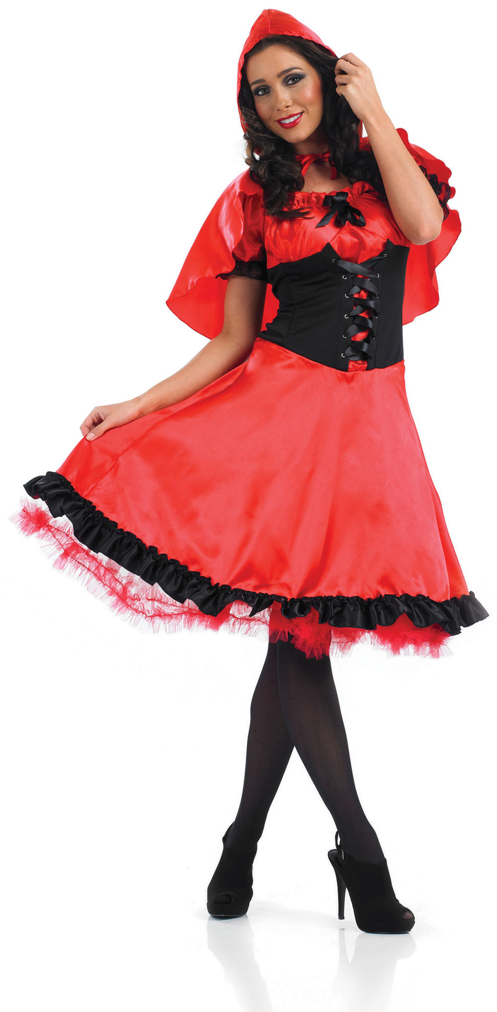 Red Riding Hood Longer Length Dress