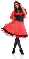 Red Riding Hood Longer Length Dress