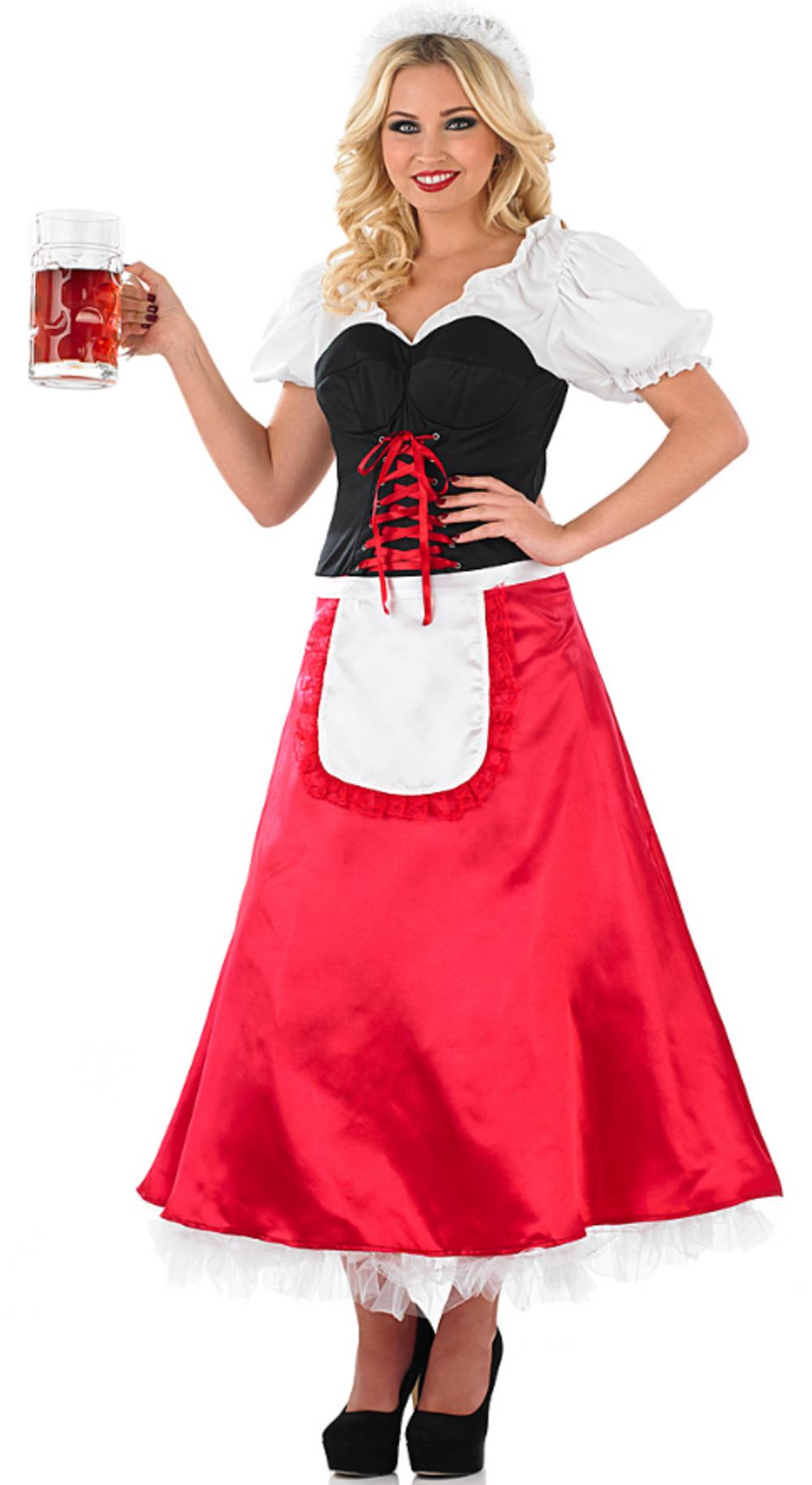 Bavarian Lady Fancy Dress Costume