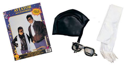 Aviator Accessory Fancy Dress Kit
