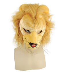 Lion Full Face with Sound Fancy Dress Accessory
