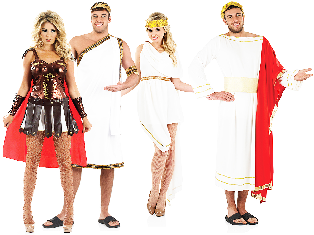 Sentinel Roman Empire Adults Fancy Dress Grecian Greek Toga Mens Ladies Costumes Outfits  sc 1 st  eBay & Roman Empire Adults Fancy Dress Grecian Greek Toga Mens Ladies ...