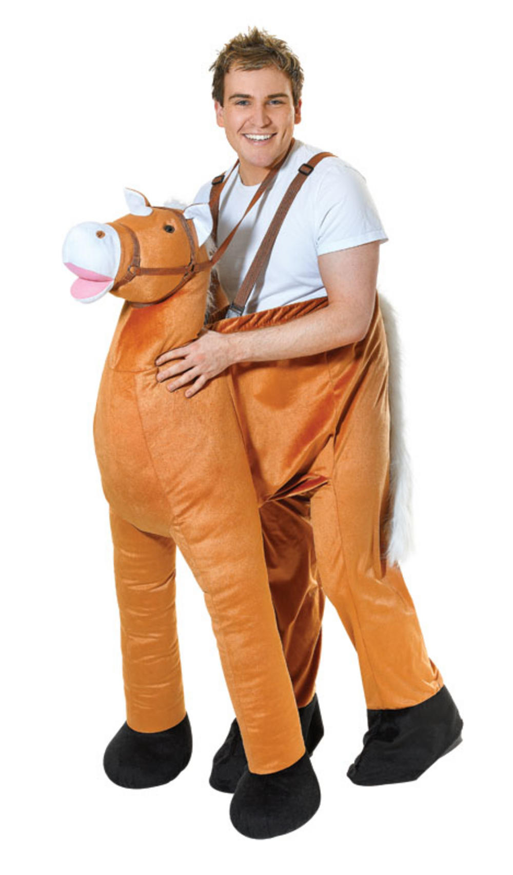 Adults Step In Horse Fancy Dress Costume