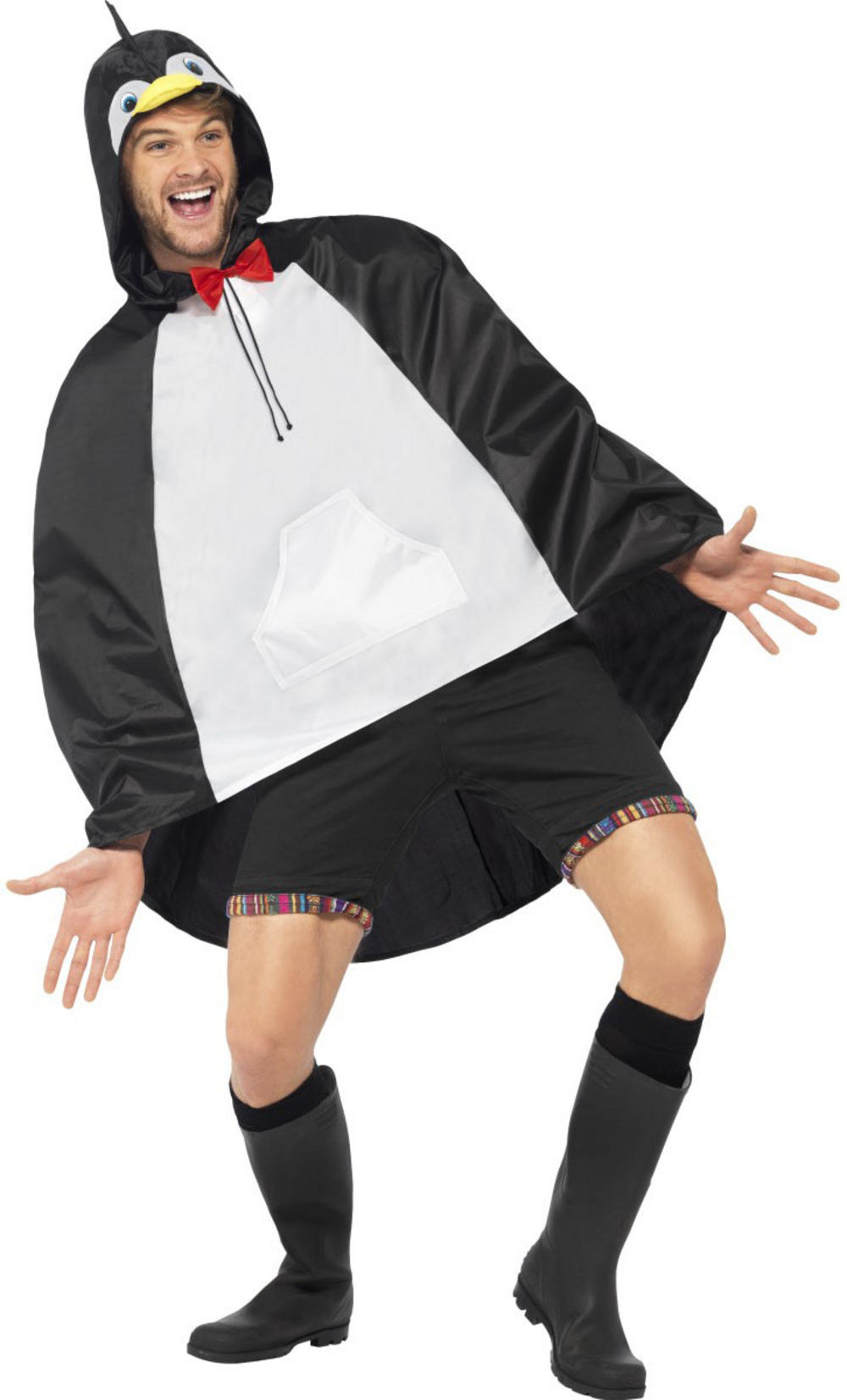Penguin Party Poncho