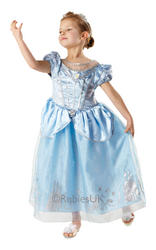Girls Anniversary Disney Cinderella Costume