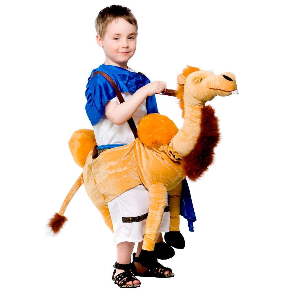 sentinel ride on camel childs fancy dress animal kids arabian nights nativity costume new