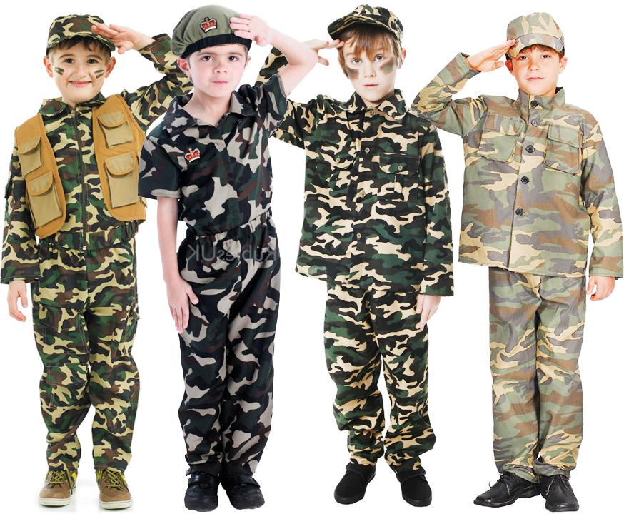 boys army uniform