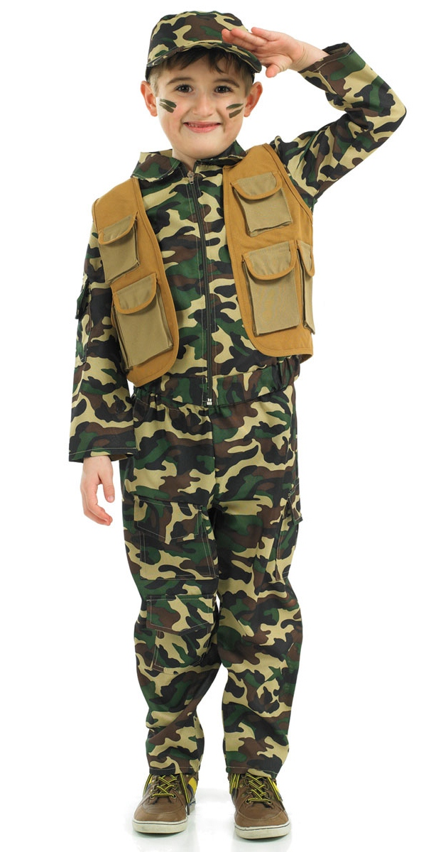 Sentinel Army Soldiers + Hat Boys Fancy Dress Military Uniform Kids Childrens Costume New  sc 1 st  eBay & Army Soldiers + Hat Boys Fancy Dress Military Uniform Kids Childrens ...