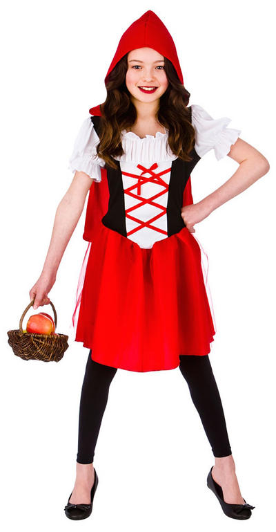 Girls Little Red Riding Hood Costume