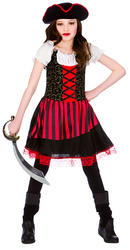Girls Pretty Pirate Girl Costume