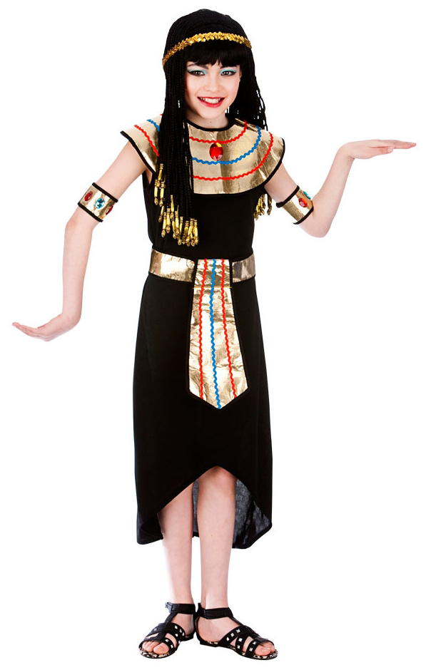 Girls Egyptian Queen Costume  sc 1 st  Mega Fancy Dress & Girls Egyptian Queen Costume | Girls Fancy Dress Costumes | Mega ...