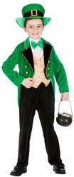 Deluxe Leprechaun Boy Costume
