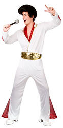 Mens King Of Rock N' Roll Costume